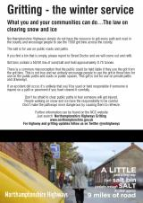Gritting and the law- what you can and cant do